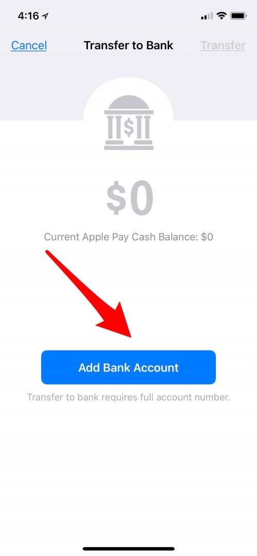 apple pay account iphone
