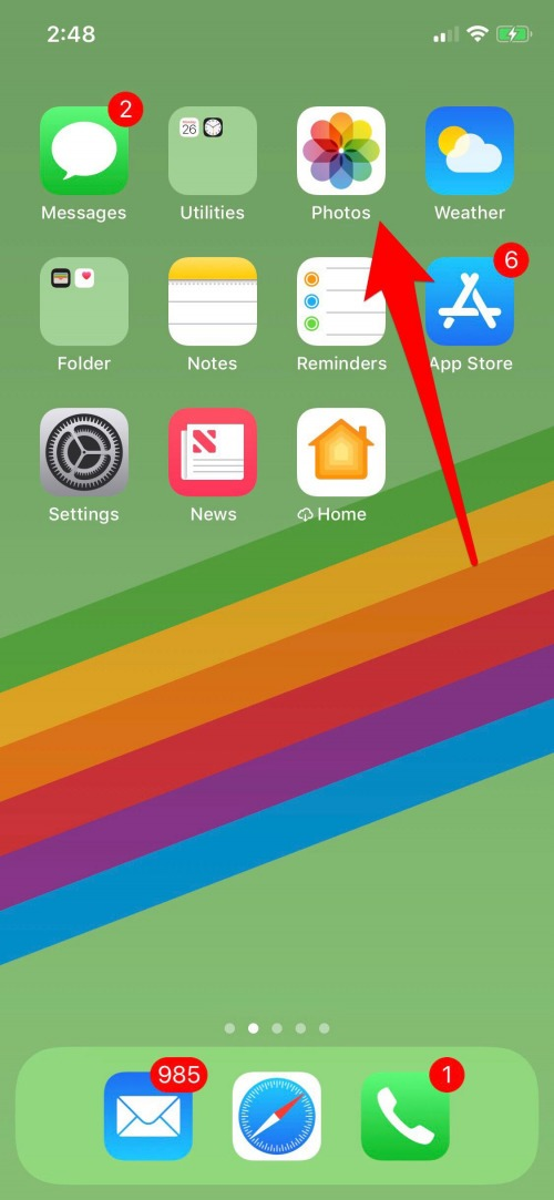 how to remove photos from iphone