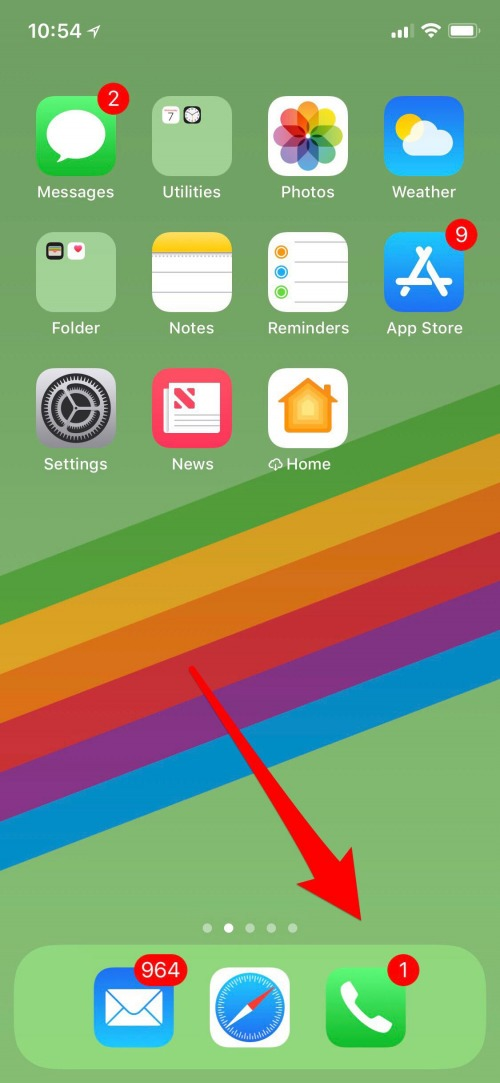 How to put private number on iphone 6
