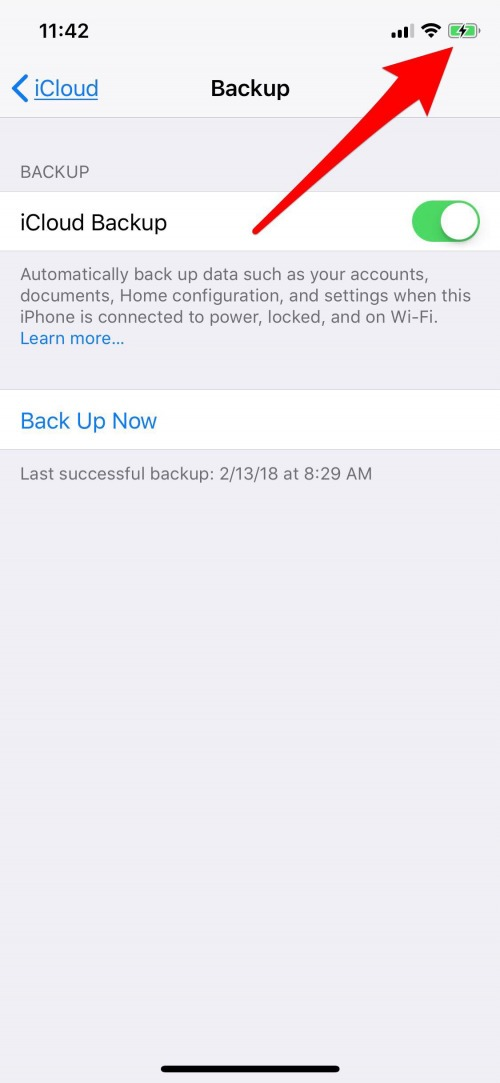 iphone backup failed