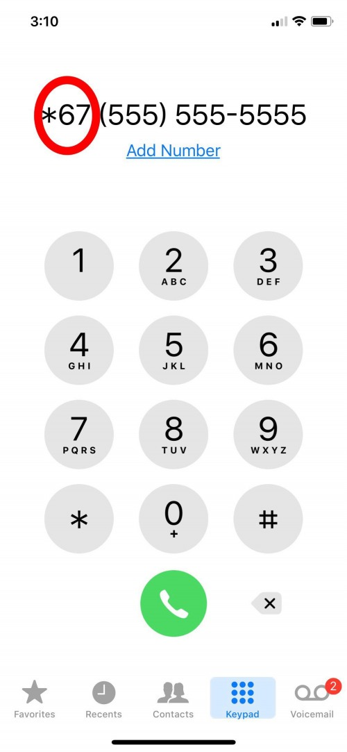 how to block your number from caller id make a private call on iphone. Black Bedroom Furniture Sets. Home Design Ideas