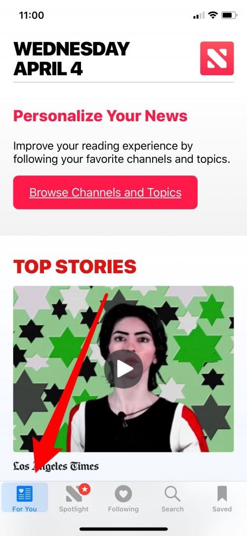 ios 11.3 news app