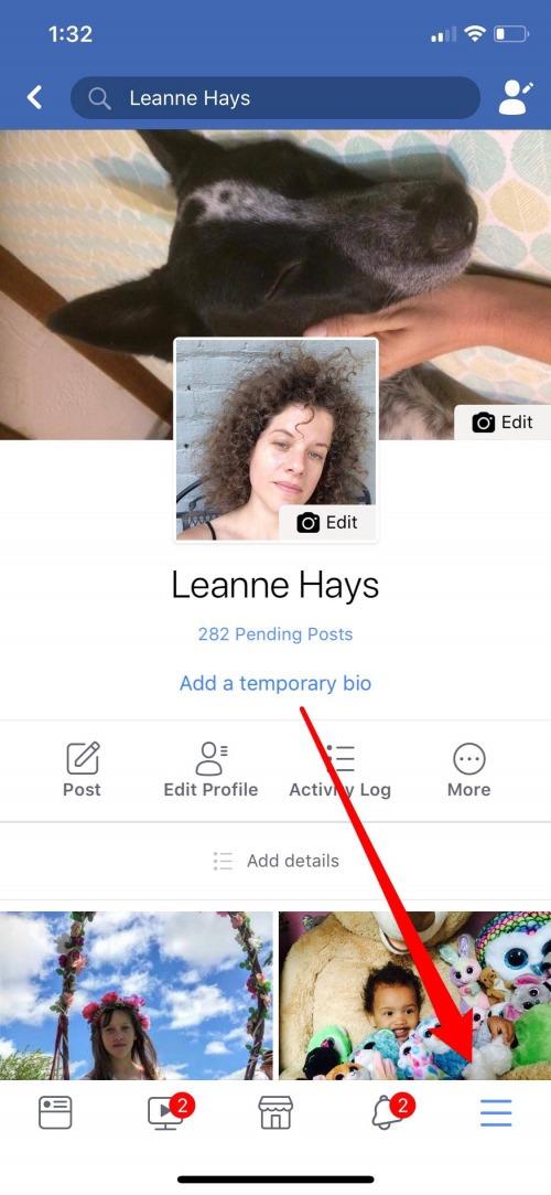 facebook contact sync