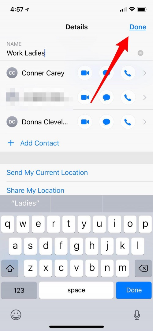 How to create a group message on iphone 6 plus