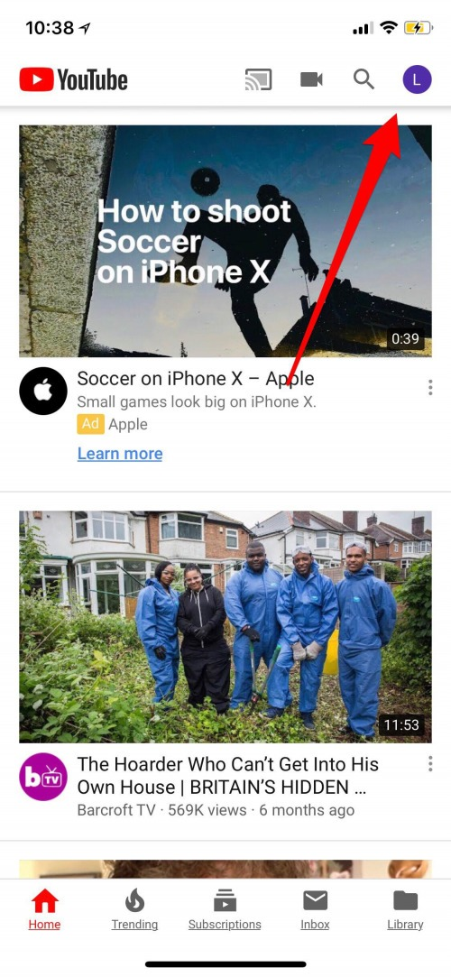 download video youtube iphone x