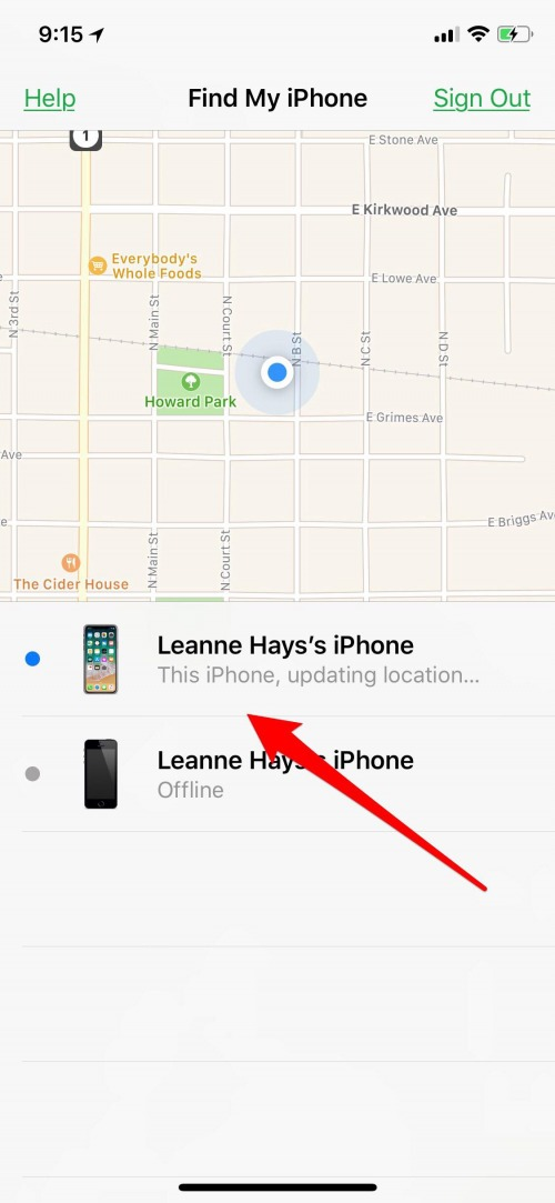 find my phone iphone