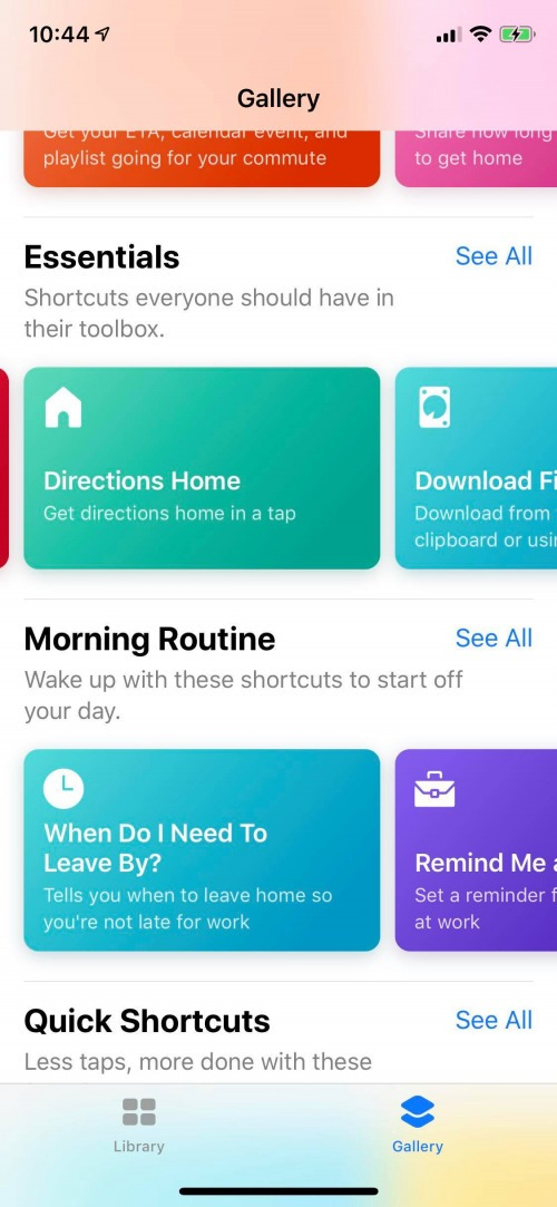 new for ios 12 how to create a driving directions shortcut in the