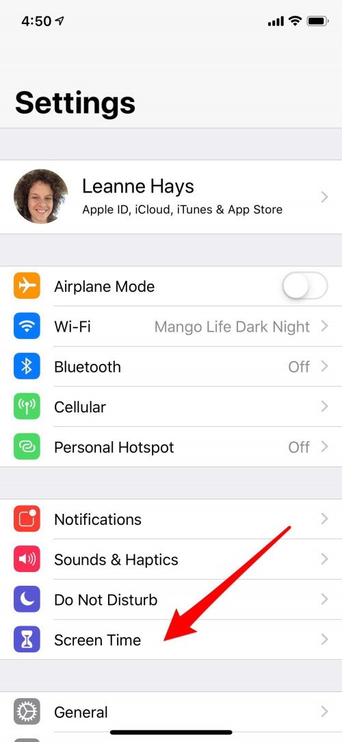 iphone parental controls