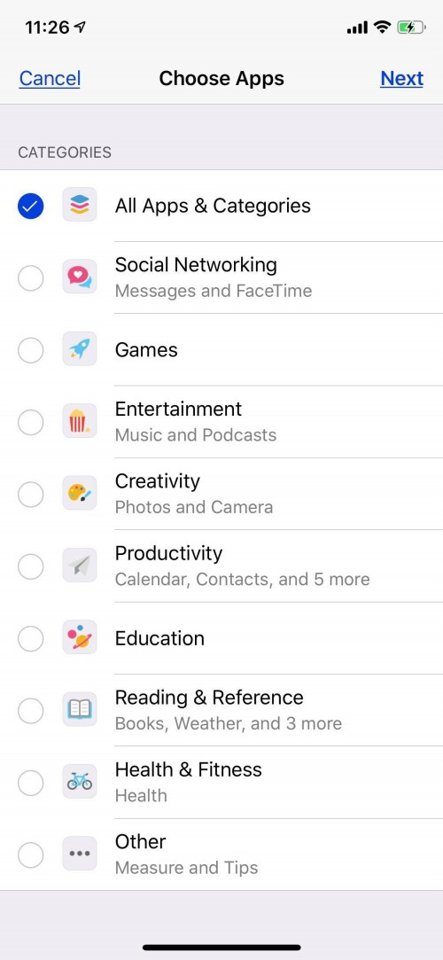 parental control for iphone apps