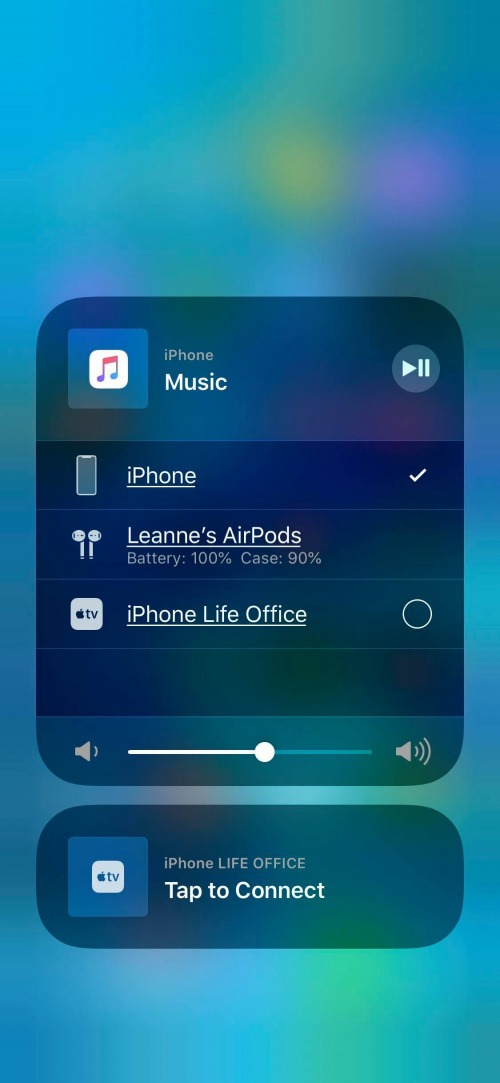 use airpods with iphone