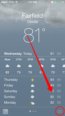 Iphone 5 Weather App Not Working idea gallery