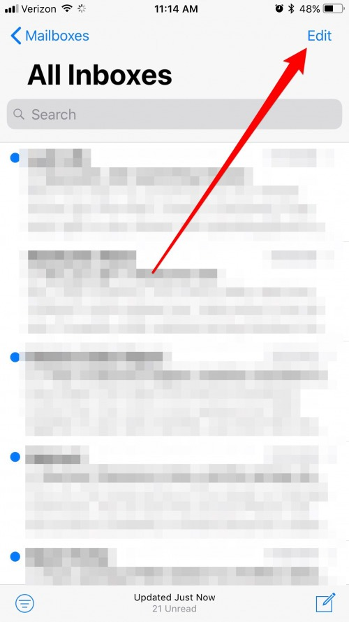 How to Quickly Mark All Emails As Read on iPhone
