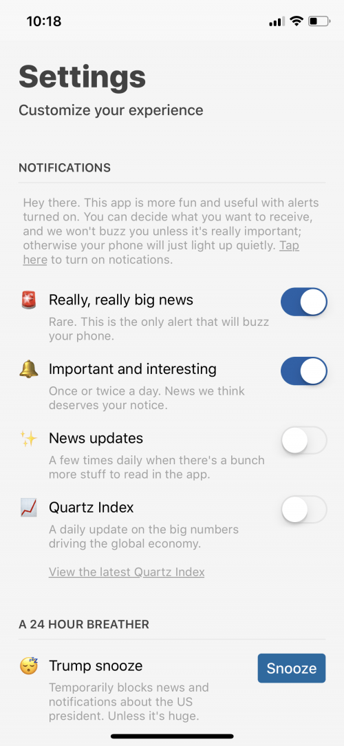 App Saturday: Quartz | iPhoneLife com