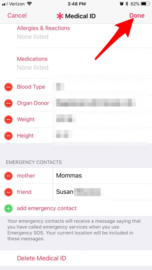 how to find your iphone how to set an emergency contact for emergency sos on 3811