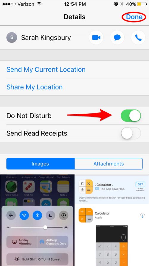 do not disturb iphone for one contact how to turn on do not disturb for individual contacts on 2739
