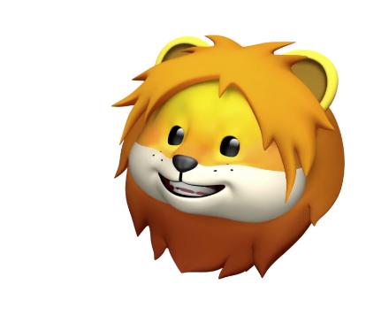 new lion animoji