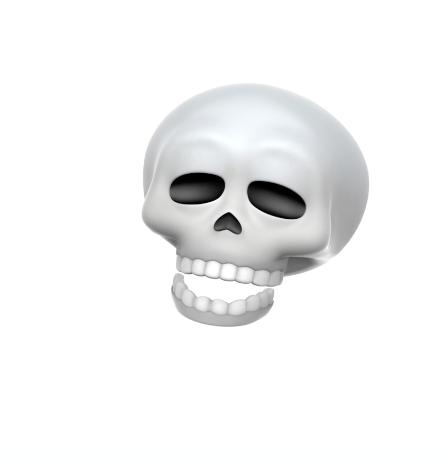 new skull animoji