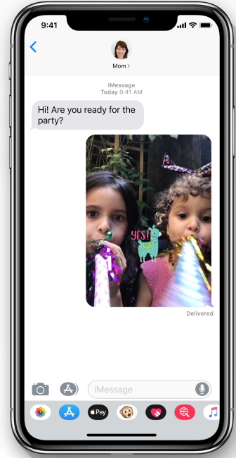 camera effects for messages and facetime