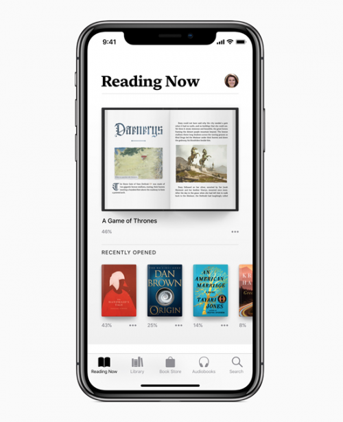apple books ios 12