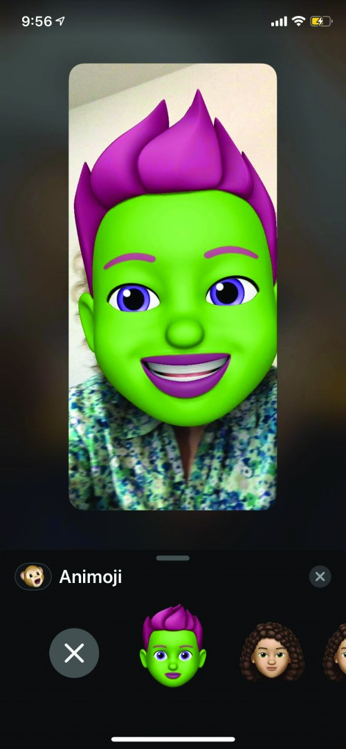 how to use memoji in facetime on iphone