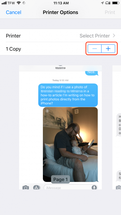 How to Print Text Messages from your iPhone | iPhoneLife.com