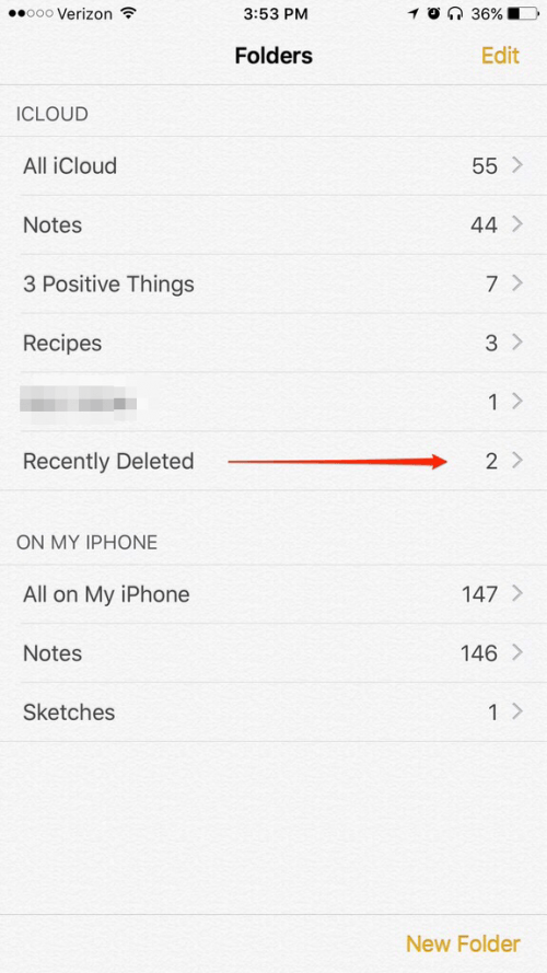 cant find my notes app on iphone
