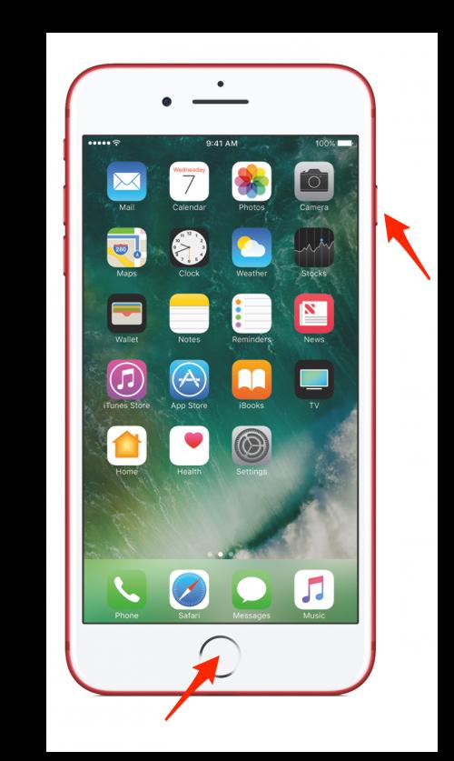 iphone how to take a screenshot of mobile
