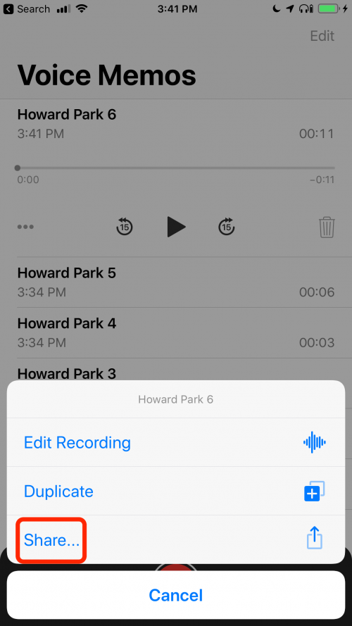 recover corrupted voice memo iphone