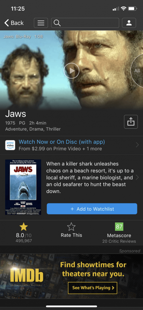 10 out of 10 imdb movies