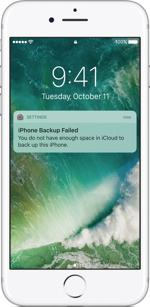 iphone wont backup
