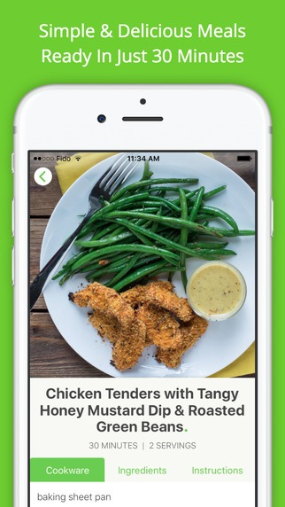 5 best healthy recipe apps food that tastes good feels great master your iphone in one minute a day forumfinder Images