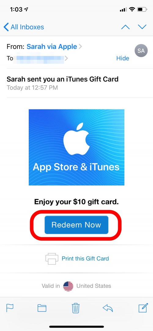 graphic relating to Printable Itunes Gift Card known as How in direction of Redeem iTunes Present Playing cards Test the iTunes Card