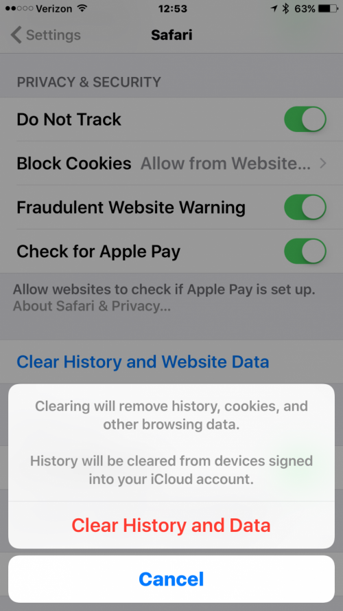 How to Easily Clear Cookies From Your iPhone and iPad.