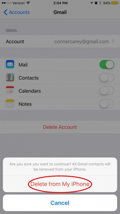 How to Easily Delete All Contacts on iPhone