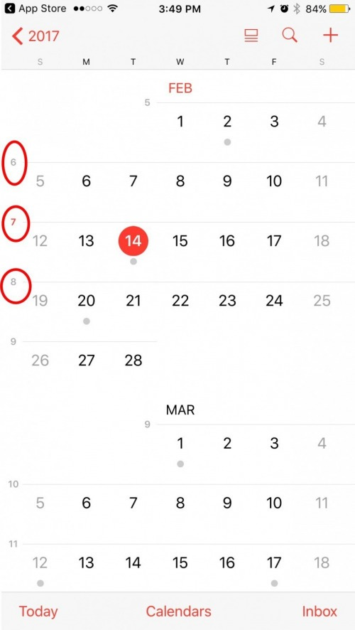 How to Show Week Numbers in Calendar App on iPhone