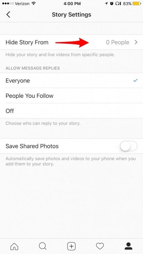 How to Hide Your Instagram Story from Specific People