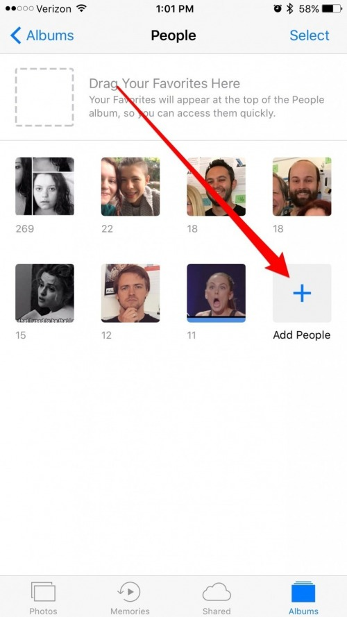 How to Add Friends to the People Album in the Photos App