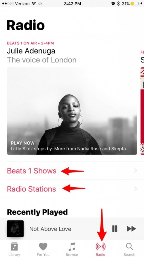 How to Listen to Free Radio Stations in Apple Music without a