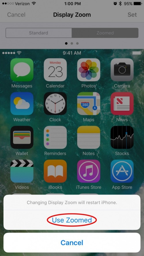 How to get rid of split screen on ipad iphone 7 plus or 8 plus once your iphone has restarted you should no longer see the split screen in your apps instead you will see one big window when you hold your iphone 6 plus ccuart Gallery