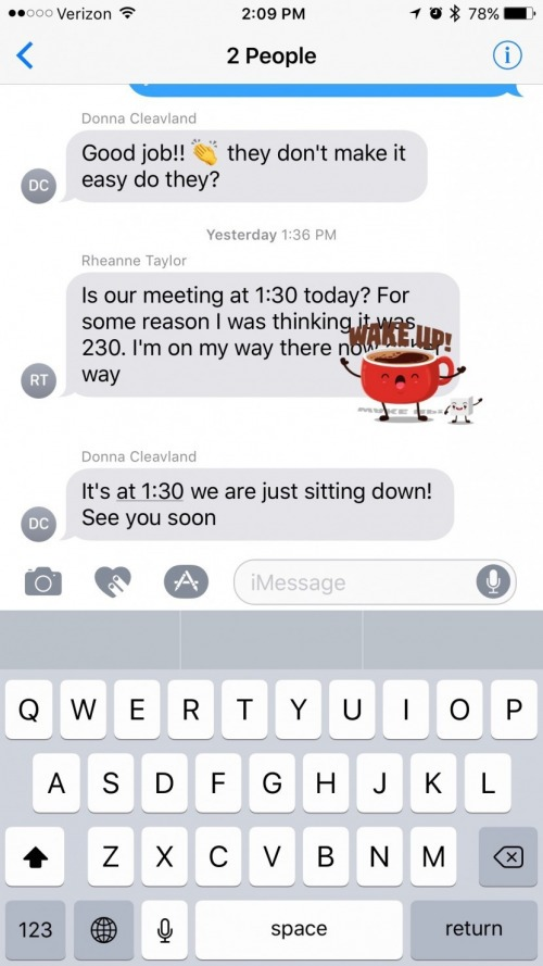 How to React to a Message with a Sticker on iPhone