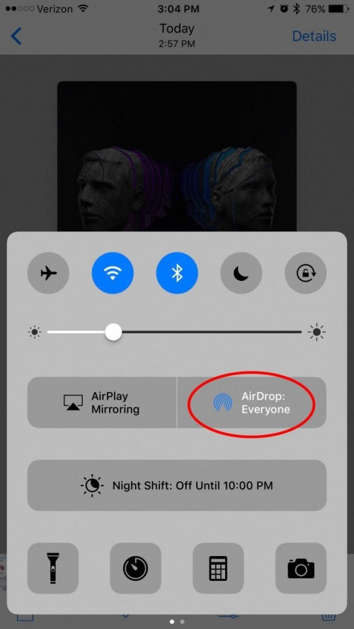 How to airdrop a song from apple music iphonelife how to airdrop a song from apple music ccuart Images