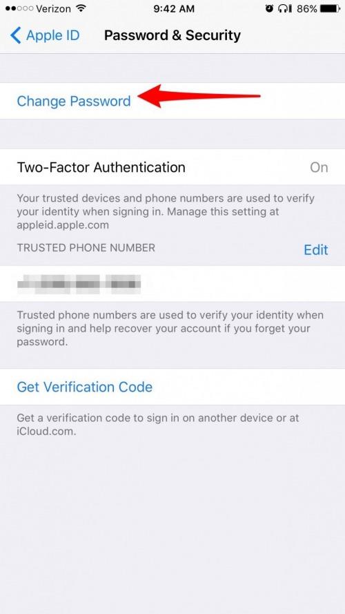edit my apple id account