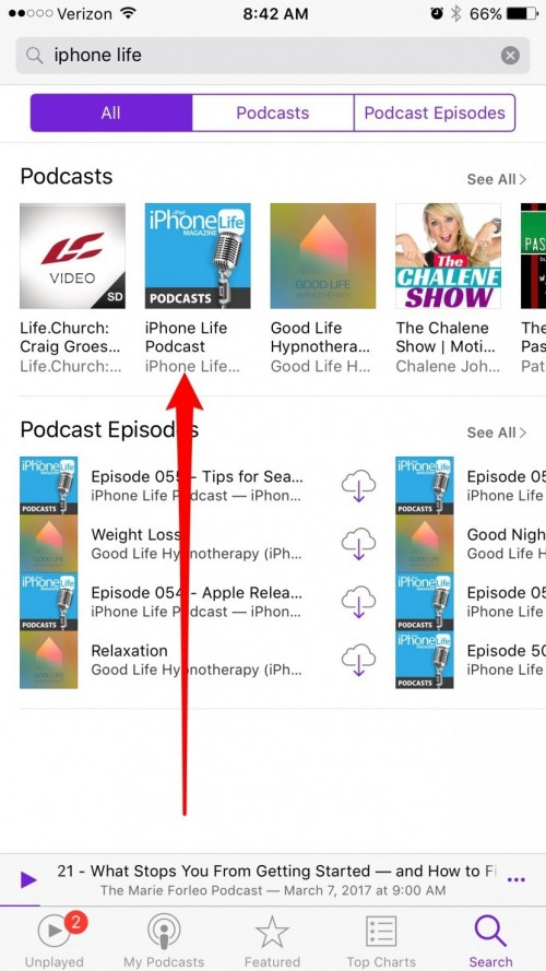 how to create a podcast on iphone