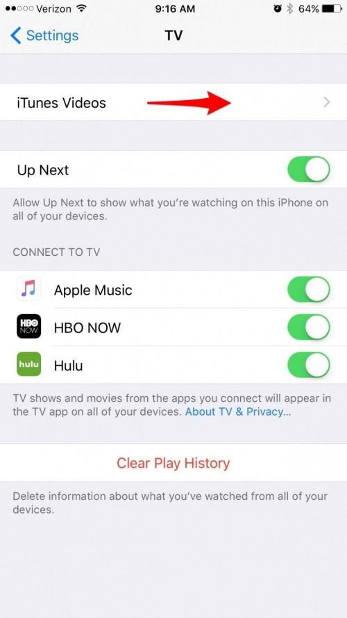 How to Use Cellular Data for Playback in the TV App on iPhone