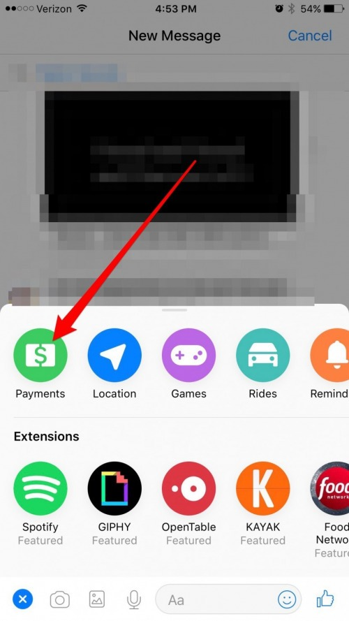 How to Send and Request Money via Facebook Messenger on