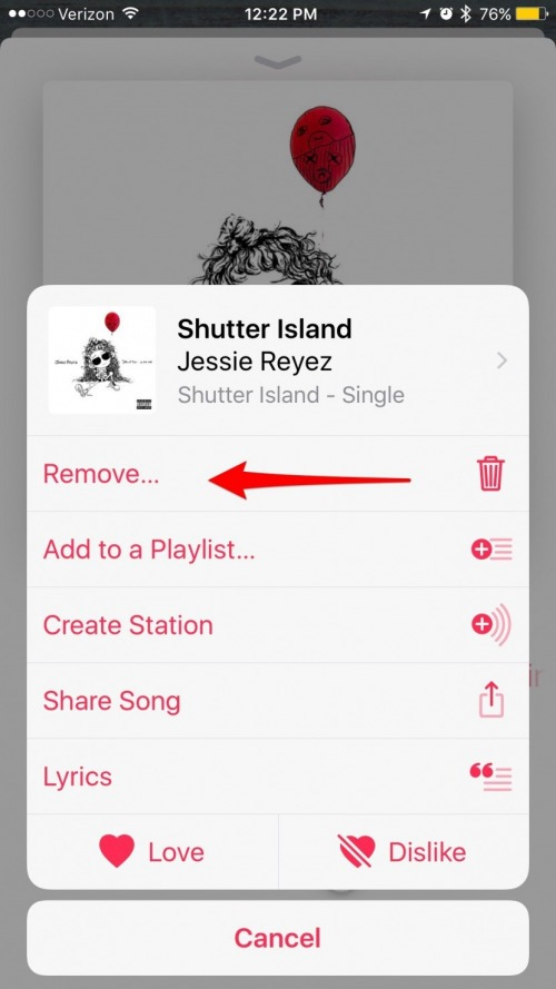 Lyric remove lyrics from song : How to Delete a Song from Your Apple Music Library on iPhone ...
