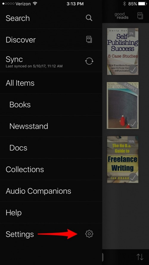 How to Sync Your Place in an E-book Across Devices in Kindle