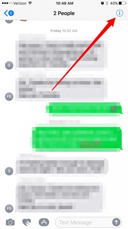 How to Mute Group Messages without Leaving the Conversation