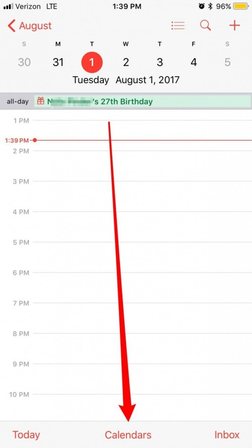How to Hide Birthdays in the Calendar App on iPhone