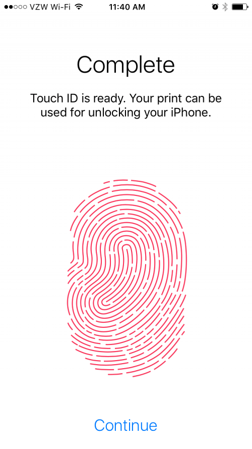 iPhone security settings